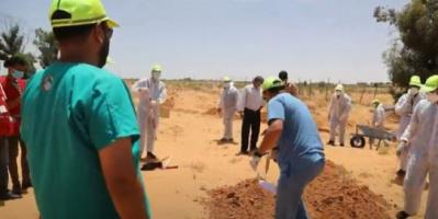 بعثة الأمم المتحدة .. قلقون إزاء تقارير عن اكتشاف 8 مقابر جماعية في ترهونة الليبية