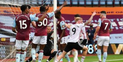 رغم تجاوز الكرة لخط المرمى  .. الكشف عن سبب عدم احتساب هدف في الدوري الإنجليزي