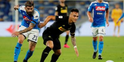 إنتر ميلان ينوي التجديد للاوتارو مارتينيز بعد تعثر انتقاله لبرشلونة