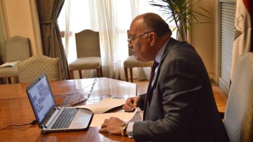 وزير الخارجية المصري .. لن نسمح بسيطرة الإرهابيين على ليبيا وشعبها