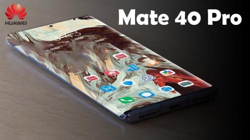 الكشف عن قدوم هاتف Huawei Mate 40 دون كاميرا أسفل الشاشة