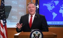 """وزارة الخارجية الأمريكية .. بومبيو أجرى اتصالا مع أحد زعماء """"طالبان"""" الأفغانية"""