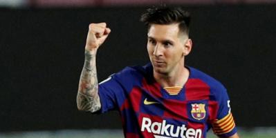 ميسي شارك في 7% من 9 آلاف هدف سجلها برشلونة في تاريخه