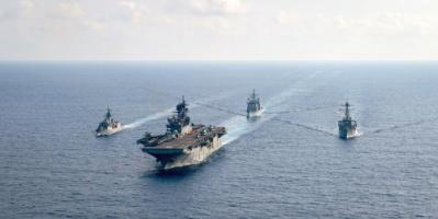 الولايات المتحدة وأستراليا واليابان تصدر بيانا يركز على الوضع في البحار المحيطة بالصين