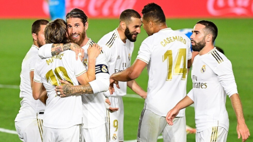 ماذا يحتاج ريال مدريد للتتويج بلقب الدوري الإسباني؟