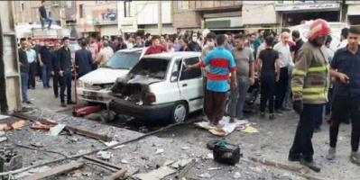 إيران .. مقتل شخص وإصابة 10 بانفجار شرقي طهران