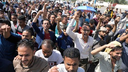 اليمن .. مظاهرات غاضبة في صنعاء بعد جريمة تعذيب وقتل شاب بطريقة وحشية