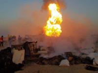 مقتل طفلين وإصابة 29 آخرين حصيلة انفجار انبوب غاز بجنوب العراق