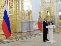 بوتين لسفراء أجانب.. مستعدون لتقاسم الخبرات مع جميع الدول في مكافحة كورونا