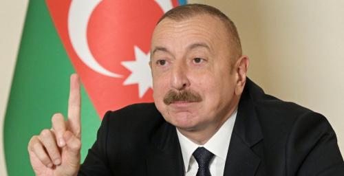 """رئيس أذربيجان .. تصريحات باشينيان عن """"إسكندر"""" الروسية مضحكة ولم نرصد استخدامها في قره باغ"""