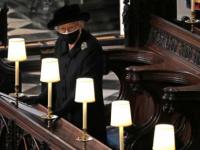 الملكة إليزابيث وحيدة في الوداع الأخير لزوجها فيليب