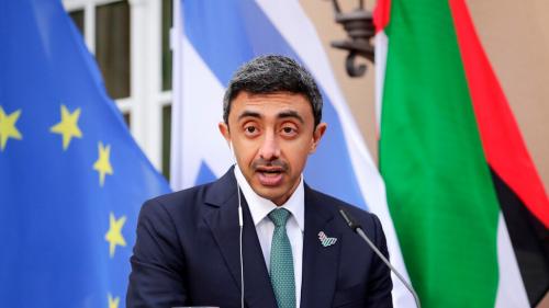 وزير الخارجية الإماراتي يستقبل مبعوث الخارجية الإسرائيلية الخاص لدول الخليج