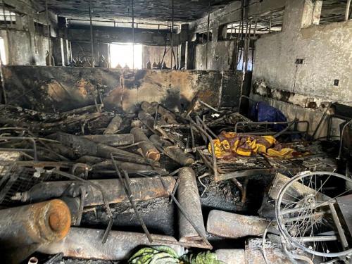 مسعفون عراقيون يروون أهوال جحيم مستشفى بغداد