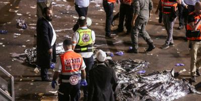 44 قتيلا و150 جريحا بانهيار جسر أثناء مهرجان يهودي على جبل الجرمق شمال إسرائيل