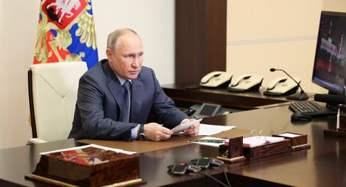 فلاديمير بوتين: روسيا ترد بالشكل المناسب على التهديدات بالقرب من حدودها