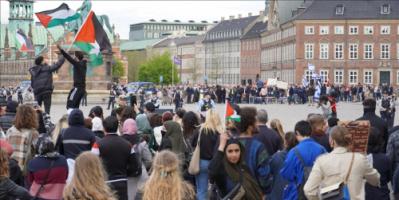 بروكسل..مظاهرة تضامنية مع الفلسطينيين بقلب الاتحاد الأوروبي