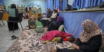 الأمم المتحدة: 47 ألف فلسطيني نزحوا إلى مدارس الأونروا بغزة