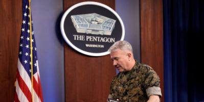 قائد القوات الأمريكية في الشرق الأوسط يبجث عن حل لمشكلة الهجمات بالطائرات المسيرة الصغيرة