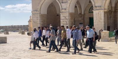 لليوم الثاني.. مستوطنون يستأنفون اقتحاماتهم للمسجد الأقصى