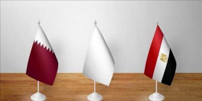 اتفاق مصري قطري على تعزيز العلاقات الثنائية وتطويرها