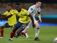 """تصفيات كأس العالم.. هدف """"قاتل"""" يحبط الأرجنتين أمام كولومبيا"""
