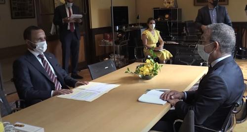 رئيس البرلمان الدولي يدين الاستيطان والممارسات الإسرائيلية