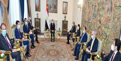 وزير الاقتصاد الفرنسي يؤكد للسيسي دعم بلاده للاستثمار في مصر