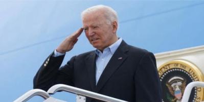 """قمة """"بايدن-بوتين"""".. الرئيس الأمريكي يصل إلى جنيف"""