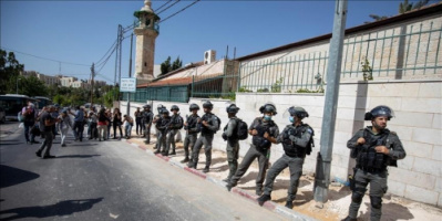 الجيش الإسرائيلي يطلق النار على فلسطينية شمال القدس