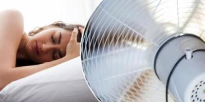 5 مشاكل صحية تصيبك نتيجة تشغيل المروحة أثناء النوم