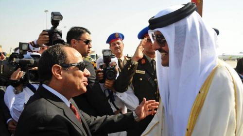 الرئيس المصري عبد الفتاح السيسي يصدر قرارا بتعيين سفير جديد لمصر في قطر