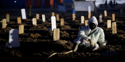 """الصليب الأحمر: وضع كورونا في إندونيسيا يقترب من """"الكارثة"""""""
