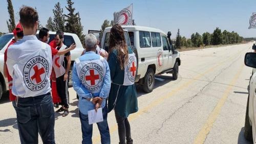 """""""الصليب الأحمر"""" في سوريا يؤكد أنه كان """"وسيطا محايدا"""" في عملية تبادل المحتجزين الأخيرة"""