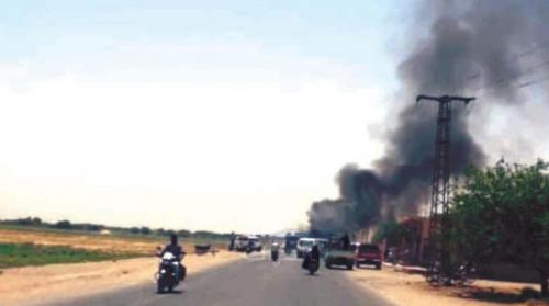 غارة أميركية على «الحشد» العراقي في سوريا