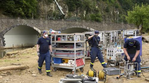 سكك حديد ألمانيا: الفيضانات تسببت في أضرار بقيمة 1.3 مليار يورو