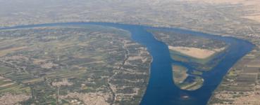 ارتفاع منسوب مياه نهر النيل عند الحدود السودانية الإثيوبية