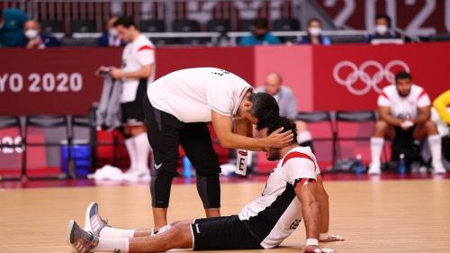 الرئيس السيسي يوجه رسالة للاعبي منتخب مصر لكرة اليد