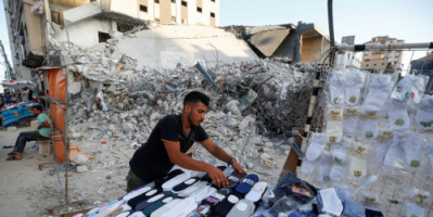 """""""هيومن رايتس ووتش"""" تتهم فصائل فلسطينية في غزة بارتكاب """"جرائم حرب"""""""