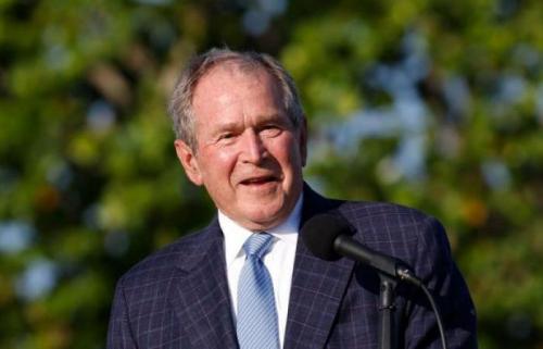 الرئيس الأمريكي الأسبق بوش يعلق على الوضع في أفغانستان