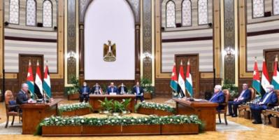 قادة مصر والأردن وفلسطين يصدرون بيانا حول الإجراءات الإسرائيلية غير المشروعة