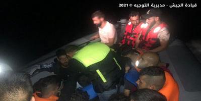الجيش اللبناني يعلن إحباط عملية تهريب أشخاص عبر البحر