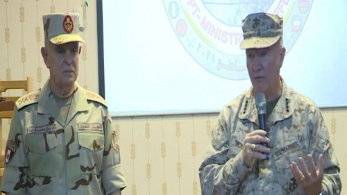 رئيس أركان حرب القوات المسلحة المصرية يلتقي قائد القيادة المركزية الأمريكية