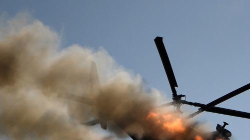تحطم مروحيتين جنوب بنغازي أثناء تدريبات ومصرع طاقم إحداهما