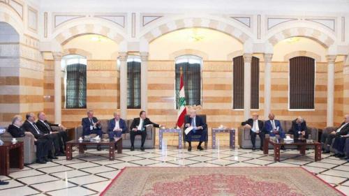 لبنان.. ميقاتي يؤكد أن الحكومة تعمل على وقف الانهيار الحاصل في البلد