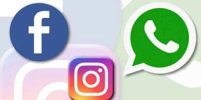 توقف مفاجئ لتطبيقات الفيسبوك والواتساب والانستغرام