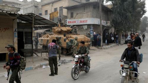 سقوط قتلى جراء انفجار سيارة مفخخة في مدينة عفرين السورية