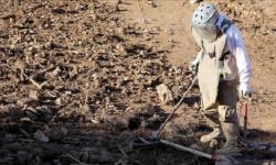 انفجار لغم مزروع حول سجن النساء بمدينة عدرا السورية